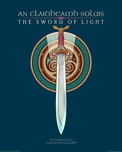 The Sword of Light Archival Print