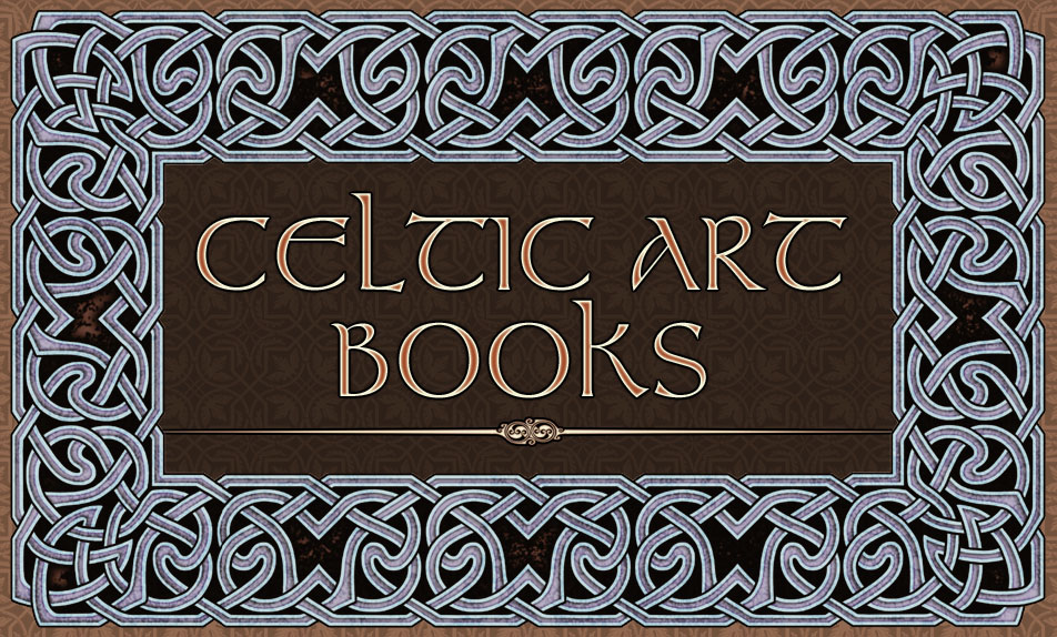 Celtic Knotwork Borders in Repeating Sections book by Bradley W. Schenck