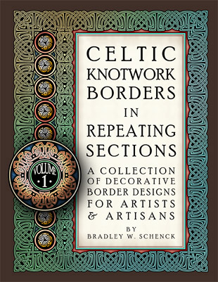 A COLLECTION OF KNOTWORK BORDER DESIGNS FOR ARTISTS & ARTISANS