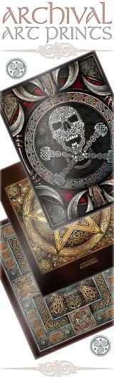 Celtic Artwork archival art prints