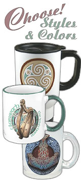 Travel Mugs, Ceramic Mugs, & Frosted Glass Mugs