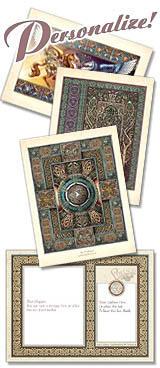 celtic art postcards