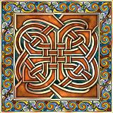 Celtic Interlace Panel
