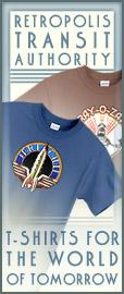 Retro-Futuristic T-Shirts