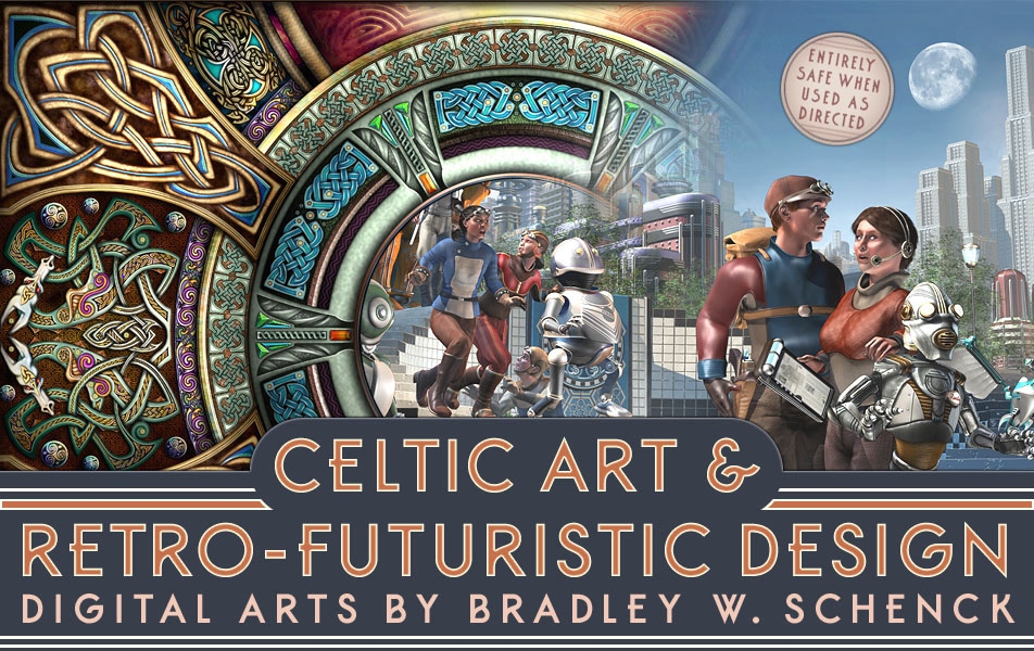 Celtic Art & Retro-Futuristic Design