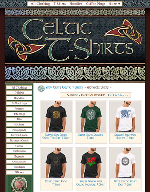 Celtic Art T-Shirts