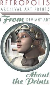 Retro Sci Fi Art Prints