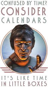 Retropolis calendars: twelve months of the future that never was