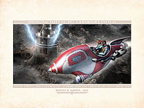 Thrilling Tales: Doctor Rognvald's Tower Archival Print