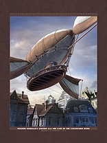 Thrilling Tales: Osgood Finnegan's Airship Archival Print