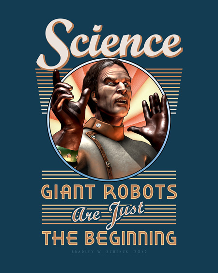 Science: Giant Robots Are Just the Beginning Archival Print