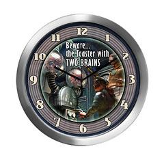 Retro Pulp SF Clock